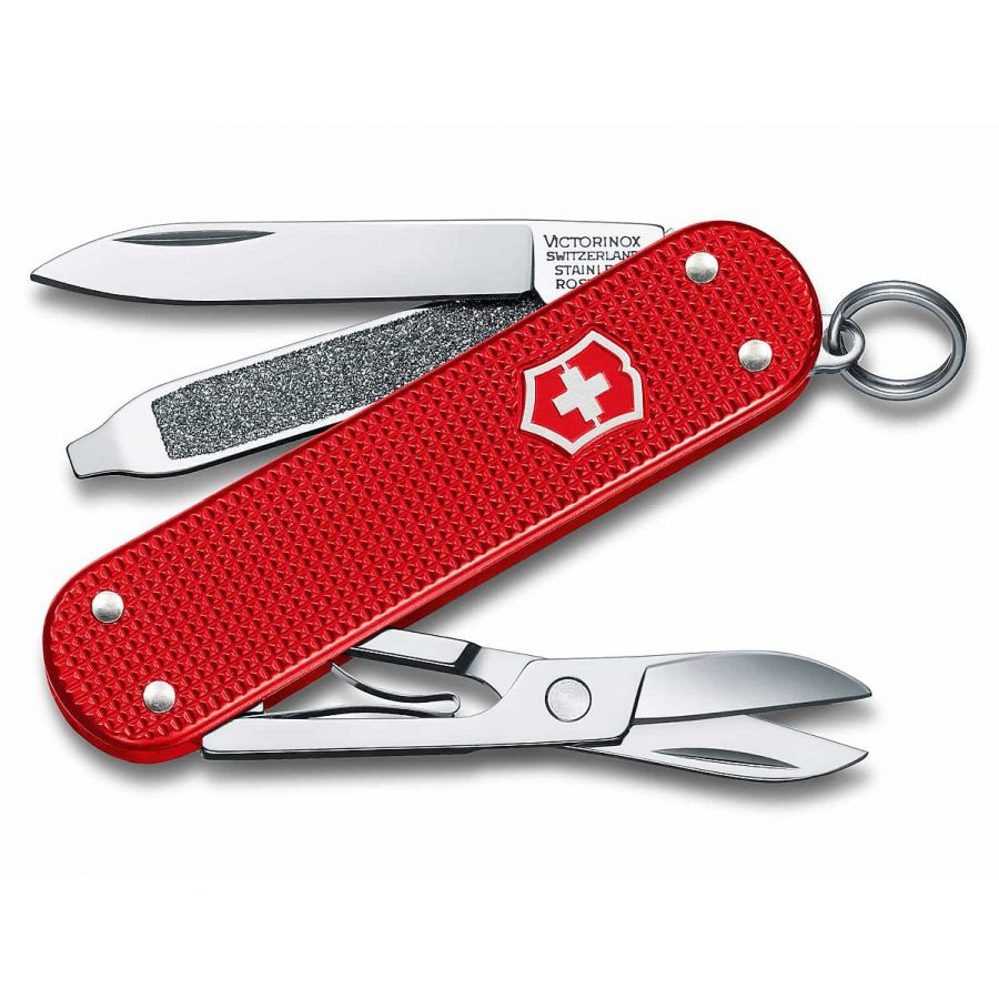 Briceag Victorinox / briceag 0.6221.L18 Alox Classic Berry Red NEW !!